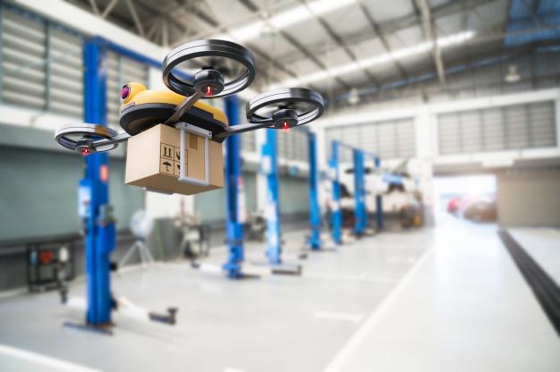 verzendkosten pakket drone